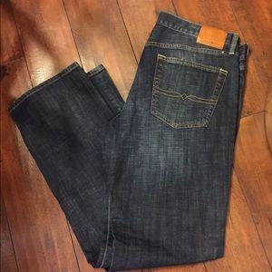Lucky Brand 361 Vintage Straight dark Jeans 36x34